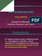 Les Deutéromycètes