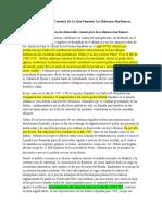 Balance General Contexto De Lo Que Fomento Las Reformas Borbónicas.