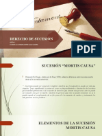 SESIÓN 3 DERECHO DE SUCESIÓN