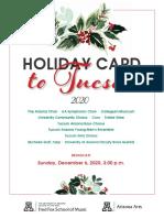 Program Holiday Card 2020