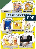 Language Arts - bumble bee poem and activities