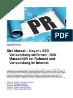 Dirk Massat – Negativ SEO Verleumdung Entfernen