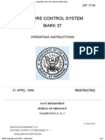 OP 1719 - Gun Fire Control System Mark 37 Operating Instructions