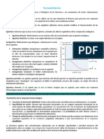 Farmacodinámica (resumen libro)