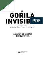 Chabris Christopher Y Simons Daniel - El Gorila Invisible (1)