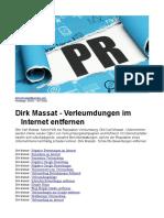 Dirk Massat - Verleumdungen im Internet entfernen