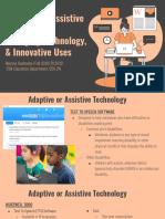 adaptive or assistive technology emerging technology innovative uses - reanna huerbana