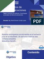 Sistemas de telefonía. Redes avanzadas de telecomunicaciones..pdf