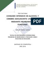 Consumo intensivo de alcohol y cerebro adolescente