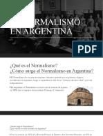 EL NORMALISMO EN ARGENTINA.pptx