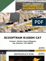 Scooptram CAT R1600h Sistemas Oleohidráulicos