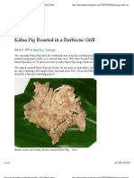 Kalua Pig Roasted in a Barbecue Grill « the Tasty Island