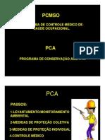 PCMSO e PCA