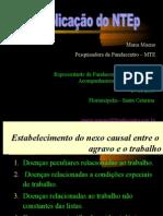 aplicação do ntep