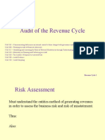 Audit of the revenue cycle