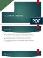 Eficiencia Eléctrica PPT
