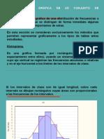 REPRESENTACIÓN GRÁFICA DE UN CONJUNTO DE OBSERVACIONES