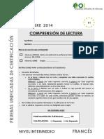 FRANCES Nivel Intermedio Sep2014 CL
