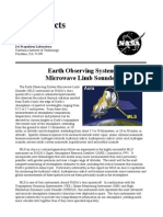 NASA Facts Earth Observing System Microwave Limb Sounder