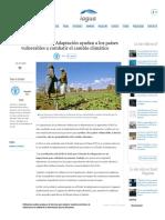 La FAO y el Fondo de Adaptación ayudan a los países vulnerables a combatir el cambio climático _ iAgua