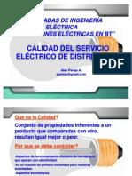 Calidad de distribucion de energia