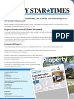 Sunday Star Times New Property Section