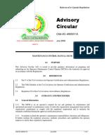 CAA-AC-AWS011A - Maintenance Control Manual