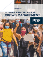 Guiding Principles for Crowd Management - Center for Policing Equity