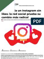 Como sería Instagram sin likes