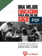 Una mejor educación para una mejor sociedad