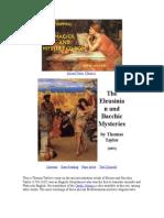 Misterios Baquicos y Eleusianos