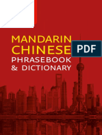 Collins Mandarin Chinese Phrasebook and Dictionary Gem Edition - Collins Dictionaries