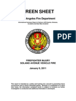 LAFD Green Sheet 2011-01-09 Incident 1140