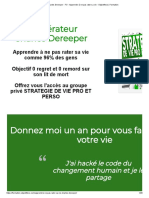 Charles Dereeper - FO - Apprendre à ne pas rater sa vie - Objectifeco _ Formation