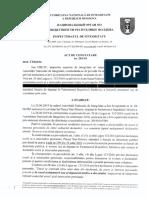 ACT DE CONSTATARE Nr. 284/10 din 04.12.2020 Nae-Simion Pleșca, fost deputat în Parlamentul Republicii Moldova