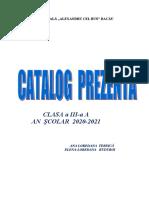 CATALOG PREZENTA