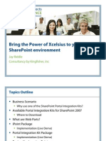 GBN 2009 - Bring the Power of Xcelsius to SharePoint