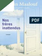 Nos frères inattendus - Amin Maalouf.pdf