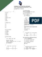 UPKEM - CHEM17 2ND LE Samplex (Answers)