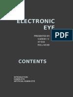 electronic eye vijeesh