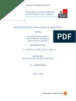 Monografia... investigacion cientifica... santos oliver