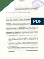 Requerimiento del Presidente Piñera al TC por Ley de Presupuestos 2021