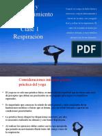 Respiración- Clase 1