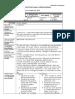 collaborative assignment sheet