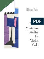 IMSLP623315-PMLP1001198-Eleven_Miniature_Studies_for_Violin_Solo_Complete
