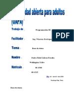 Base de datos primer reporte de programación III.docx