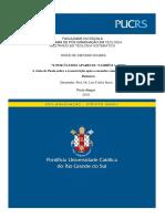 Mestrado -  JOSUÉ DE ASEVEDO SOARES