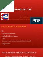 prezentare de caz cmd