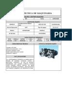 FICHAS TÉCNICAS MÁQUINAS 1,2 Y 3