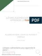 5 étapes rudimentaires pour apprendre le piano!.pdf